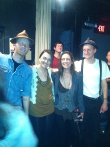 Crazy eyes with the The Lumineers!